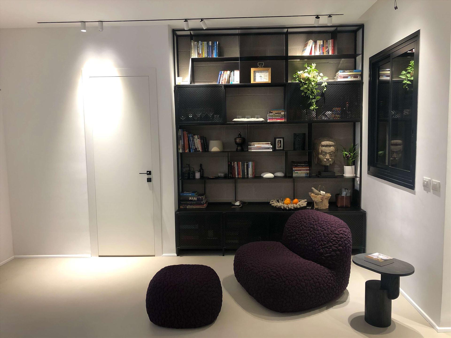 ספריה מעוצבת לחדר מבית עוז סטיל