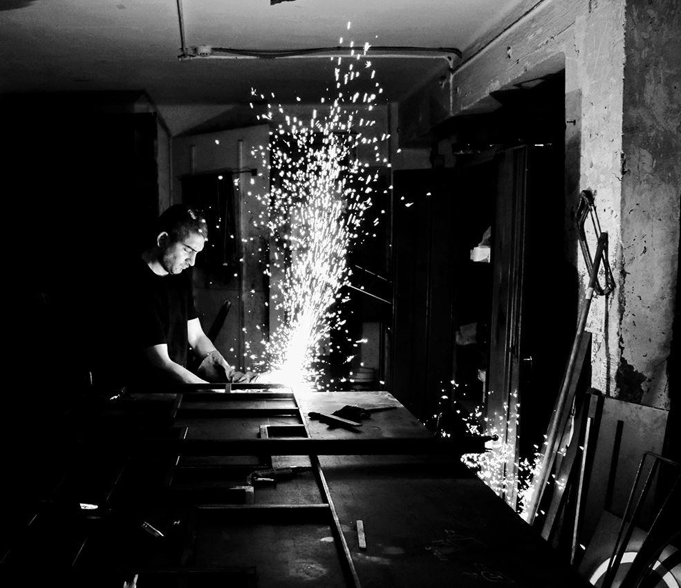 עוז סטיל ניצוץ מפרויקט עבודת מתכת